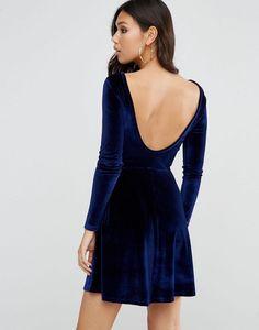 b15788274c4 Discover Fashion Online Velvet Skater Dress