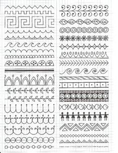 Doodle art ideas draw zentangle patterns 24 Ideas for 2019 Mandala Art Lesson, Mandala Drawing, Mandala Doodle, Mandala Pattern, Zentangle Patterns, Zen Doodle Patterns, Art Patterns, Doodle Designs, Line Patterns