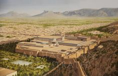 Persepolis, Persia, Royal Palace Complex in the 6th century BC – Archaeology Illustrated