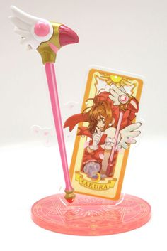 AmiAmi [Character & Hobby Shop] | Cardcaptor Sakura - Acrylic Accessory Stand: Clow Card(Released)