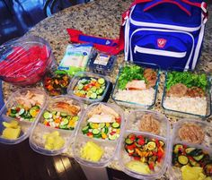 TEAM @Fitmarkbags!! Meal prep game on Point prepped by... TEAM @Fitmarkbags!! Meal prep game on Point prepped by @payneproject Use PREPSTER15 to get a hookup! ::::::::::::::::::::::::::::::::::::::::: Mealprep was in full force at our house today! Now we are ready to go for the week! My lunches: 3 days of roasted turkey cucumber/onion/pepper salad white sweet potato. 2 days of lean ground turkey patty roasted veggies white sweet potato. Hubby has turkey rice broccoli. Snacks include…