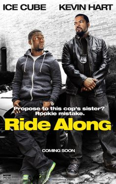 """Ice Cube & Kevin Hart in """"Ride Along"""". Kevin Hart and Ice Cube lead the lineup in """"Ride Along,"""" the new film from the director and the producer of the blockbuster comedy """"Think Like a Man. Funny Movies, Comedy Movies, Hd Movies, Movies And Tv Shows, Watch Movies, Movies Free, Action Movies, Funniest Movies, Ride Along"""