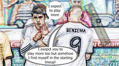 Alvaro Morata Insists He Wants to Play More at Real Madrid #Morata #Benzema #Ronaldo #Messi #Bale #Atleti #ElClasico #RealMadrid #Barcelona #HalaMadrid #FCBLive #ForçaBarça #LaLiga #CR7 #CL #Suarez #Neymar #Madrid #Barça #FCBarcelona #Jokes #Comic #Laughter #Laugh #Football #FootballDroll #Funny