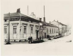 Hotelli Helsinki, vanha rakennus
