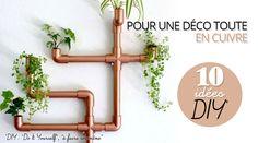 10 utilisations design de tuyaux et coudes en cuivre – Mes Mat' – Le blog
