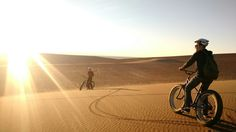 From Finland to the Atacama Desert in Chile... Fat bike tour.