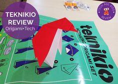 Teknikio Review: Origami  Tech = Creativity  big kids design thinking electronics girls origami teens teknikio tweens
