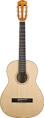 Fender ESC-105 Full-Size Classical Guitar with Gig Bag – Natural $ 149.99 Classical Guitars Product Features Laminated agathis top, back and sides 24″ scale, 18-fret neck with rosewood fingerboard Rosewood bridge with compensated saddle Chrome 3-In-Line Open Gear Tuners with White Pearl Acrylic Buttons Gig Bag Included Classical Guitars Product Description An ideal guitar for beginners, the ESC 105 is a full size guitar designed […] http://www.guitarhomes.com/fen..