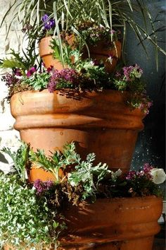 1000 Images About Diy Tiered Planter On Pinterest 400 x 300