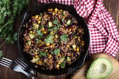 Fitness recepty s vysokým obsahom bielkovín Mexican Food Recipes, Vegan Recipes, Ethnic Recipes, Vegan Food, Kung Pao Chicken, No Cook Meals, Food And Drink, Beef, Cooking