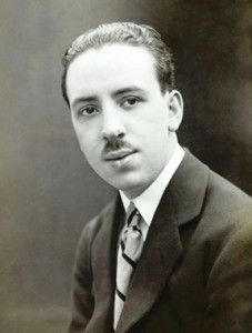 The Artist As A Young Man: Alfred Hitchcock in 1920 [aged 21]