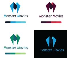Monster Movies #Logodesign Inspiration Nr. 4