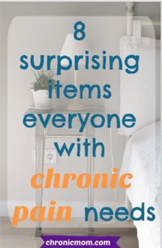 8 surprising items everyone with chronic pain needs pain management 8 surprising items everyone with chronic pain needs Chronic Fatigue Symptoms, Chronic Fatigue Syndrome, Chronic Illness, Rheumatoid Arthritis, Pain Relief Patches, Nerve Pain, How To Get Sleep, Invisible Illness, Pain Management