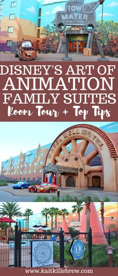 Disney's Art of Animation Family Suites Room Tour and Top Tips Best Disney Resort, Disney Resort Hotels, Disney World Hotels, Disney Hotels, Disney World Vacation, Disney Vacations, Disney Travel, Family Vacations, Family Travel