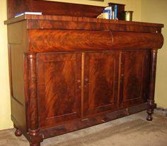 Empire Antique Mahogany Sideboard