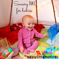 How to make sensory bags for babies and toddlers using laminator pouches. Simple no mess play ideas for kids.