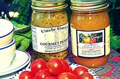 UNCLE GARY'S GOURMET PEPPERS AND PEPPER JELLY