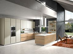 Italian Modern Kitchens | Orange Modern Italian Kitchen Designs