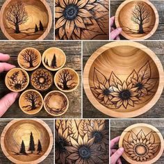 Which design is your favorite? Wood Burning Tips, Wood Burning Techniques, Wood Burning Crafts, Wood Burning Patterns, Resin Crafts, Wood Crafts, Wood Burn Designs, Wood Burning Stencils, Pyrography Patterns