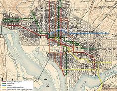 For just under 100 years, between 1862 and 1962, streetcars in Washington, D.C. transported people across the city and region.