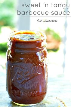 Sweet and Tangy Barbecue Sauce | Real Housemoms
