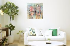 """Using """"Oh my prints"""" to show how my art can look like in a room. Art by Frank Forsman. #art #acrylic #painting #acrylicpainting #portrait #frankforsman #picturesbyfrank #interior"""
