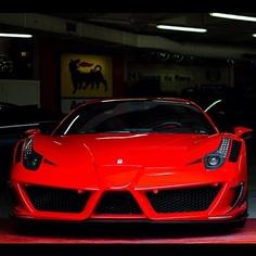 Ferrari 458 Mansory Siracusa. Wow!