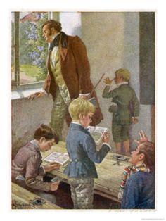 Franz Schubert Austrian Musician Working as a Schoolteacher Giclee Print by H. Schubert at AllPosters.com