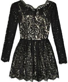 Lover Black Millie Lace Dress