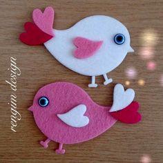 Valentine Crafts For Kids, Valentines Art, Mothers Day Crafts, Christmas Crafts, Felt Diy, Felt Crafts, Diy And Crafts, Paper Crafts, Animal Crafts For Kids