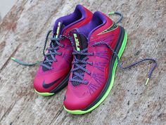 Nike LeBron X Low Raspberry Red