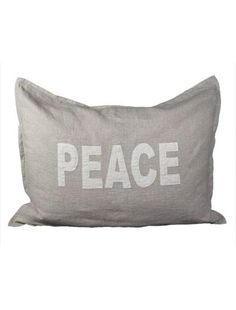 I found 'Linen Peace Sham' on Wish, check it out!