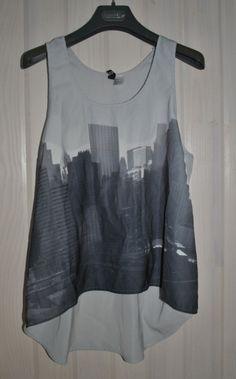 T-shirt large fluide / vêtements / mode