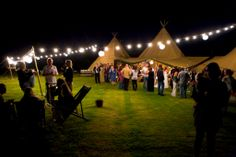 Pair with festoon lighting for a real festival feel.