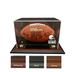 Cleveland Browns NFL Zenith Football Display Case