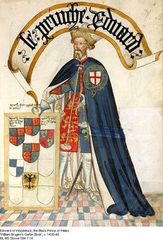 The Black Prince. Both Athelstan and Sir John Cranston joined his battles in France.