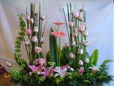 arreglos florales con claveles para boda - Buscar con Google