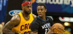 Cleveland Cavaliers - LeBron James - Andrew Wiggins - Minnesota Timberwolves