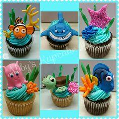 Nemo cupcakes!
