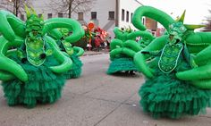 Carnaval Aalst foto- en videoblog: Groep in de kijker: AKV Venoin