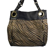 I love the Steve Madden Zebra Tote from LittleBlackBag