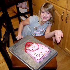 Birthday cake idea for a girl a little purse