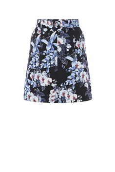 TROPICAL ORCHID MINI SKIRT