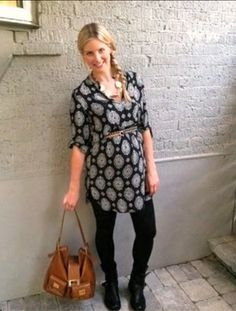 Maternity Tunic and leggings