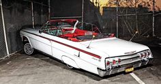 1962 Chevrolet Impala Convertible - Never Quit - Lowrider Chevrolet Impala, 64 Impala, Pontiac Gto, Pontiac Bonneville, Chevy Classic, Classic Cars, Lowrider, Convertible, Us Cars