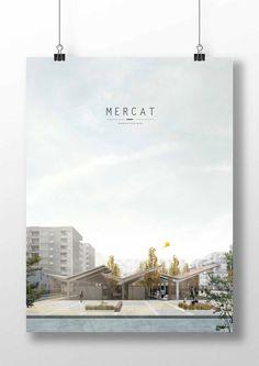 Andrés Jover. Mercat Farinós. PFC | #PFC #Panel #Architecture #Arquitectura #Design #InteriorDesign #Competition #Presentation #Magazine #Idea #Project #Render