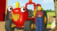 TRACTEUR TOM habite la ferme du Pré Charmant avec ses amis fermiers, engins et animaux qu'il aime bien aider. C'est ici: http://www.tfo.org/fr/univers/tracteur-tom
