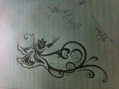 Designed my next tattoo....nothing but INK LOVE!!!  <3