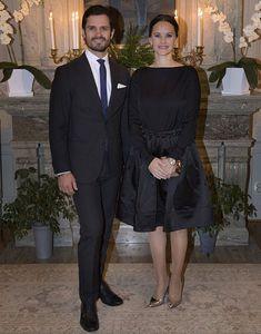 Princess Sofia and Prince Carl Philip attended a dinner in Värmland