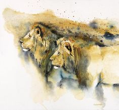 Powerful African Wildlife Bursts Out of Lively Landscapes - My Modern Met